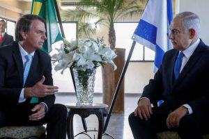 Israeli PM meets Bolsonaro in Brazil