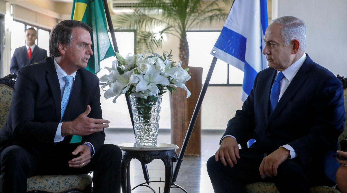 Israeli PM, Benjamin Netanyahu, Jair Bolsonaro, Brazil