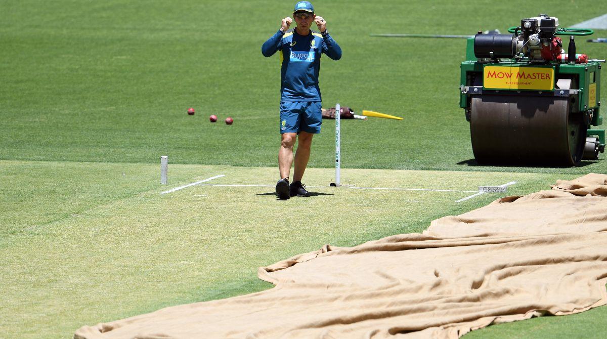 Justin Langer, Perth, Perth pitch