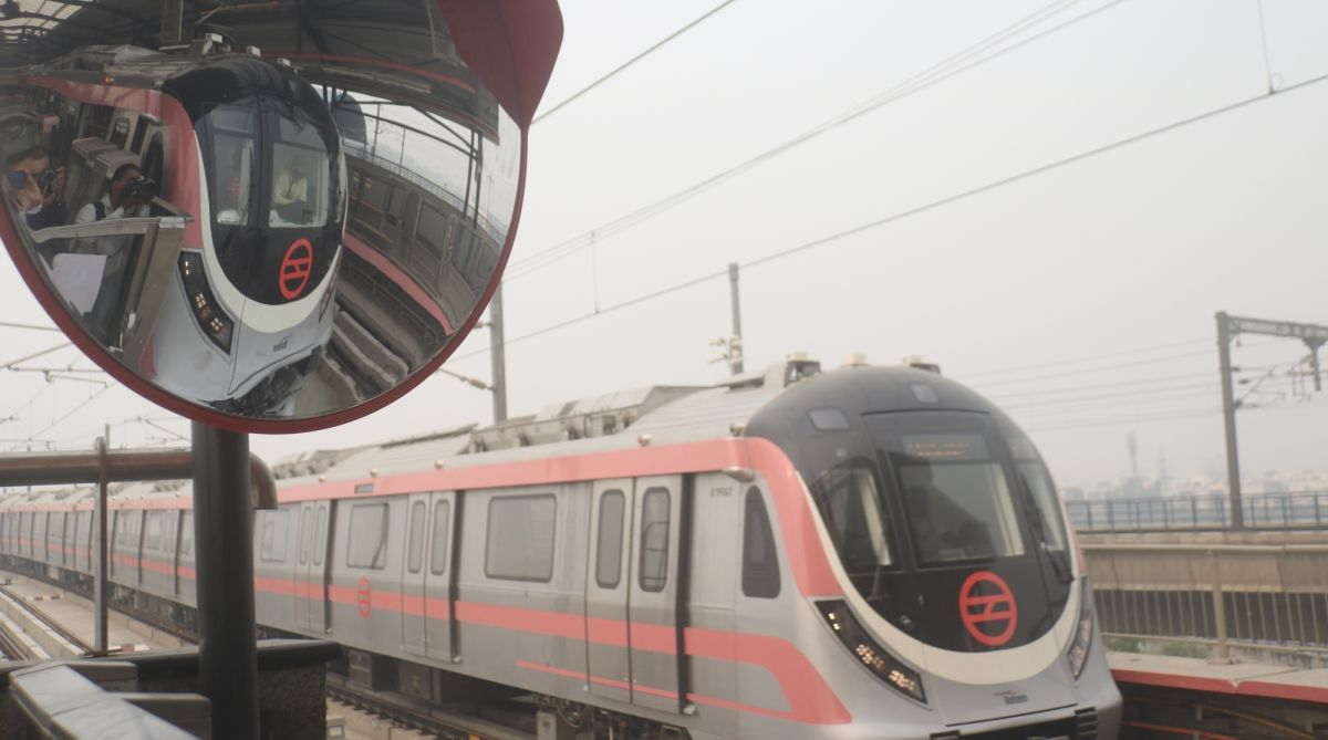 Temporary changes in Delhi Metro Pink Line timetable