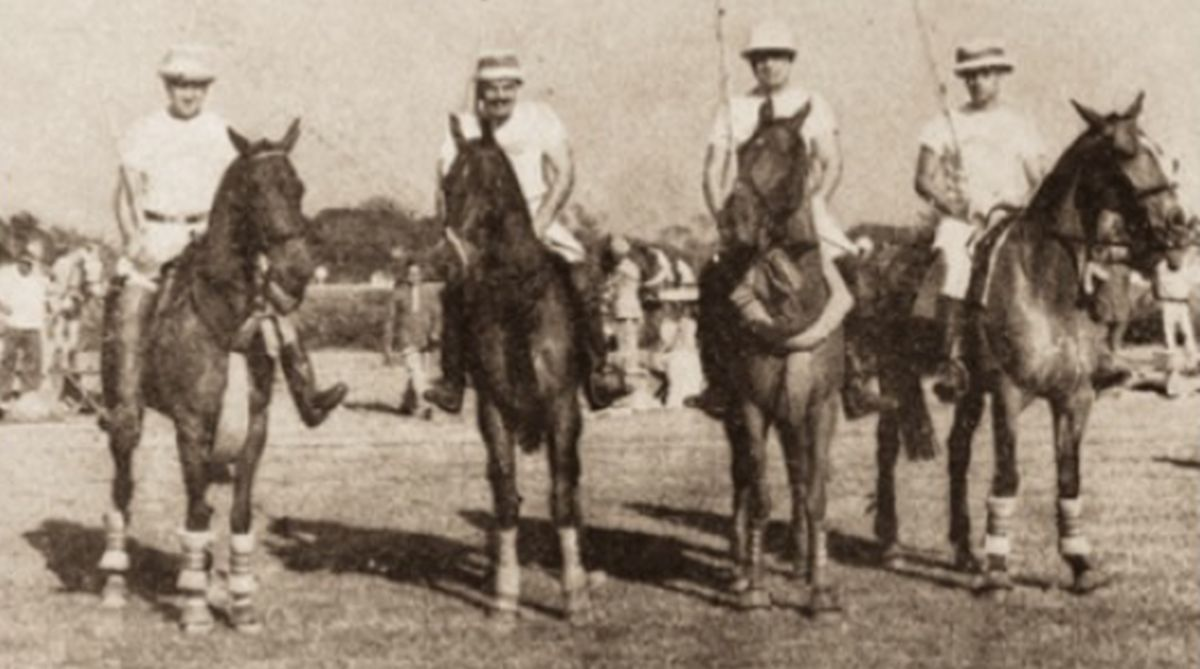 Polo, British Raj, cricket, Manipur, Winged Pony God, Calcutta Polo Club, Maharaja Prem Singh, Maharaja Sawai Man Singh, Ezra Cup, Champions Polo League