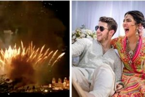 Nickyanka wedding: Twitterati slam Priyanka Chopra for bursting firecrackers