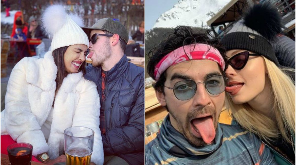 Priyanka Chopra, Jonas bros, Sophie Turner chill out in Swiss mountains | See pictures