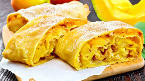 Pumpkin and Apple Strudel