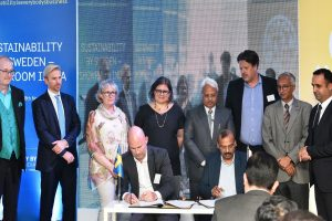 India and Sweden sign MoUs in Renewable Energy sector