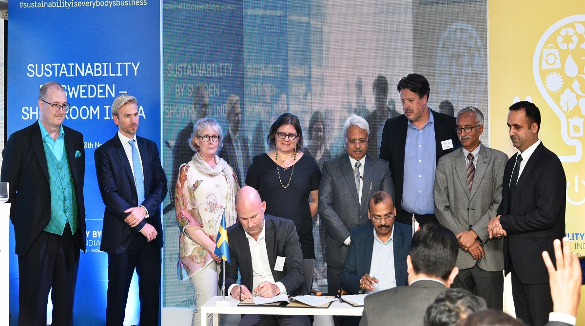 India and Sweden sign MoUs in Renewable Energy sector to bring energy efficiency in India