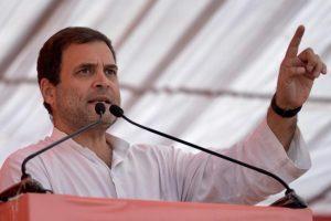 PM Modi chants Bharat Mata ki Jai but works for Anil Ambani: Rahul Gandhi
