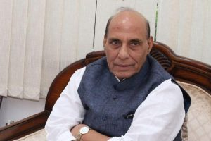 Centre committed to democratic process, ready to hold election in J-K: Rajnath Singh