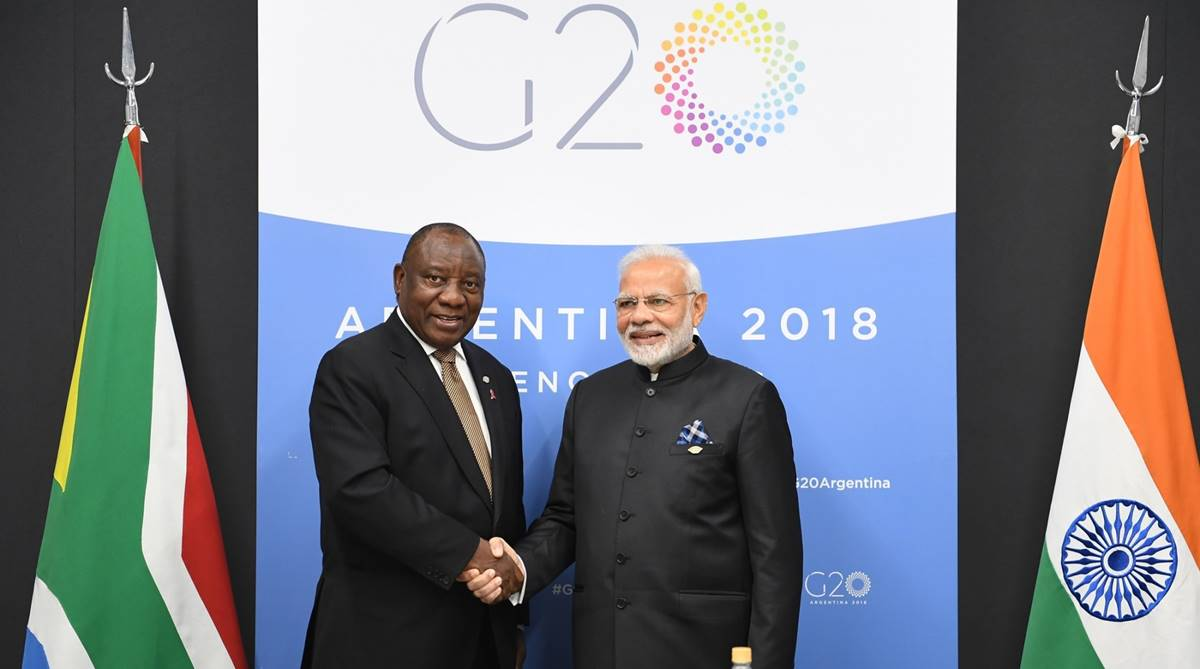 Cyril Ramaphosa, South African President, Republic Day Parade, Republic Day 2019, Nelson Mandela, Narendra Modi, 2019 Republic Day