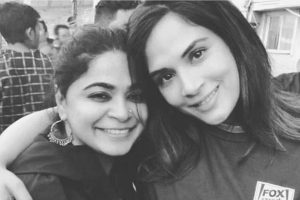 Panga: Richa Chadha wraps first schedule; pose with Ashwiny