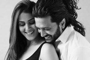 World got its best creation on your birthday: Genelia to husband Riteish Deshmukh