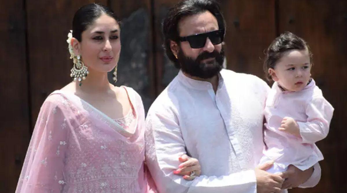 Saif Ali Khan, Kareena Kapoor Khan, Taimur Ali Khan