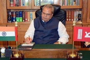 Jammu & Kashmir: PDP warns Governor Malik against 'fiddling' with state laws