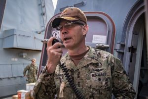 Top US naval commander in Middle East found dead