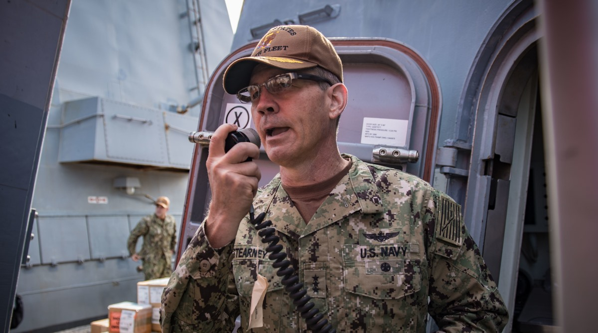 United States, Naval commander, Middle East, Dead, Vice Admiral Scott Stearney