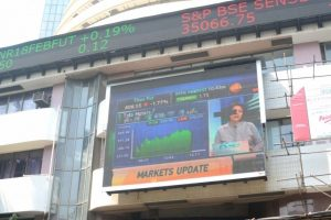 Sensex 200 points down ahead of RBI policy
