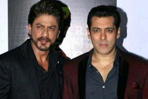 Watch: Salman Khan and Shah Rukh Khan jam together in throwback clip
