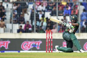 Bangladesh's Shakib fined for shouting at umpire