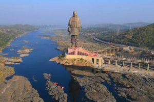 President to lay foundation stone for rail link to Statue of Unity