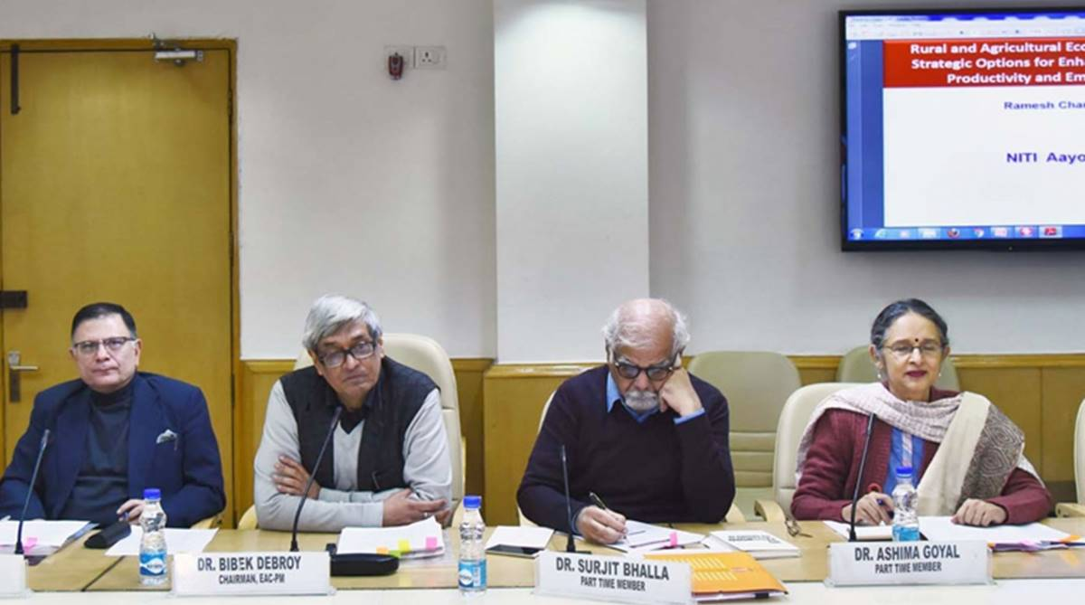 Surjit Bhalla, Economic Advisory Council to PM, EAC-PM, Bibek Debroy