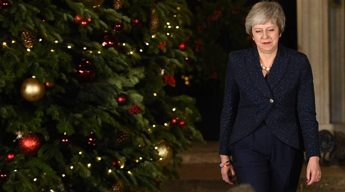 Theresa May, Theresa May confidence vote, Brexit, 1922 Committee, Downing Street, European Council meeting