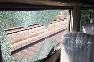 Miscreants throw stones at Train 18 during trial run, damage window