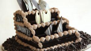 Truffle Rum Cake