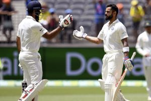 3rd Test: Pujara, Kohli, Rohit put India in driver's seat on Day 2