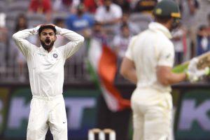 Virat Kohli, Tim Paine exchange verbal blows as Perth Test heads for nail-biting finish