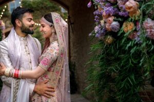 First marriage anniversary! Anushka Sharma and Virat Kohli relive wedding moments