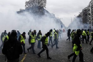 All eyes on President Macron after fresh 'yellow vest' protests hit Paris