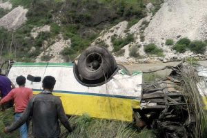 Four, including 3 children, killed in Himachal school bus accident