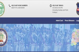 TSLPRB admit cards for SI, Constable posts released | Download now at www.tslprb.in