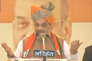 TRS, Congress busy in minority appeasement: Amit Shah