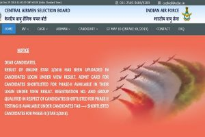 IAF recruitment 2018: Applications invited for Airmen posts, apply from January 2 at airmenselection.cdac.in