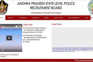 AP Police recruitment 2018: Admit cards for Constable, Warden and Firemen posts released at slprb.ap.gov.in