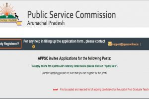 APPSC recruitment 2018: Applications invited for Lecturer posts, apply at www.appsconline.in