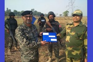 BSF celebrates 54th Raising Day, exchanges sweets with Pakistan Rangers