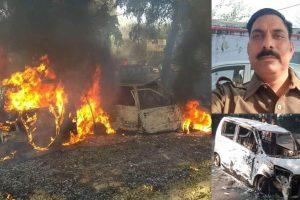 Bulandshahr violence | Man accused of killing UP cop arrested, claim police