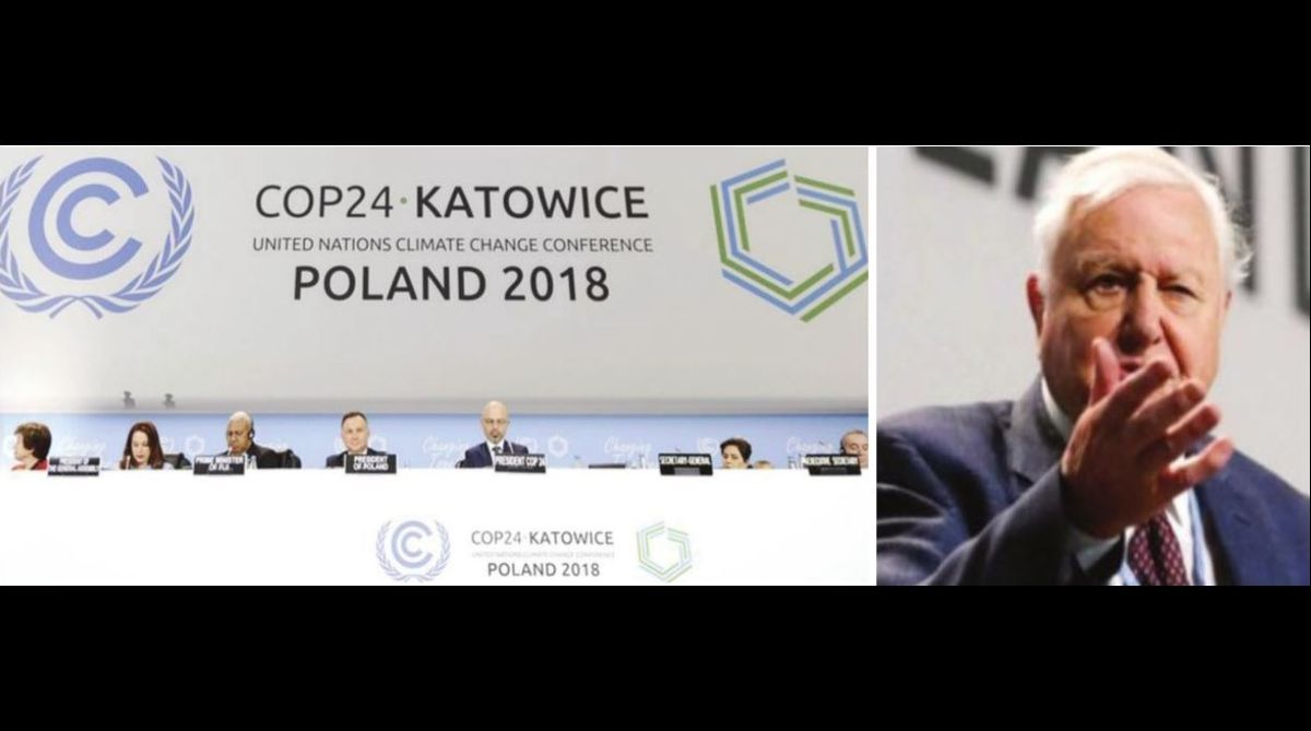 Climate change, David Attenborough, Poland, Antonio Guterres, United Nations, UN climate talks, global warming, Paris deal