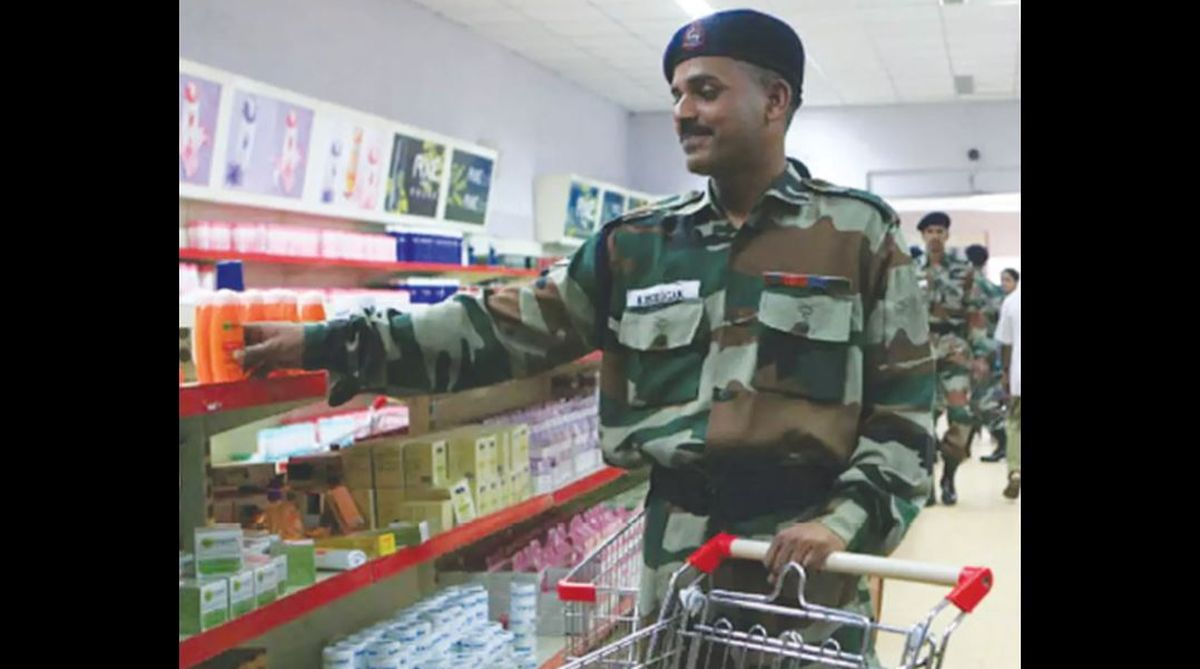 Bureaucracy, Canteen Stores Department, Navy canteen services, military institution, Defence Ministry, GMBOA, Air Chief Marshal Arup Raha, CSD, armed forces