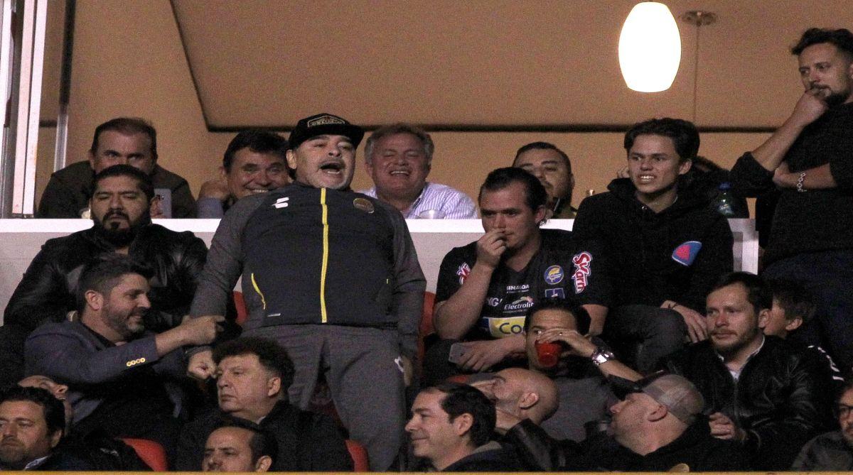 Diego Maradona, Mexico's football federation, Ascenso MX, Dorados de Sinaloa