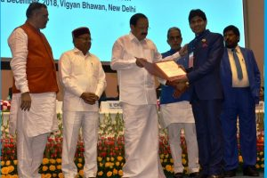 Dr Yogesh Dube awarded Best Individual Working for causes of Persons with Disabilities