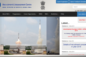 DRDO recruitment 2018: Applications invited for Apprentices post, apply at rac.gov.in