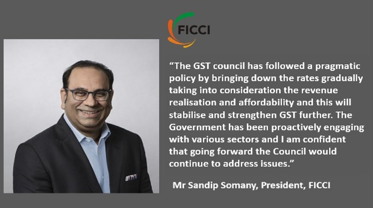FICCI, GST Council, Ficci President Sandip Somany, GST rates, Goods and Services Tax