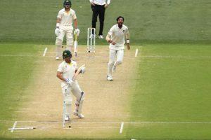 Watch | India vs Australia: Ishant Sharma makes a mess of Aaron Finch's stumps