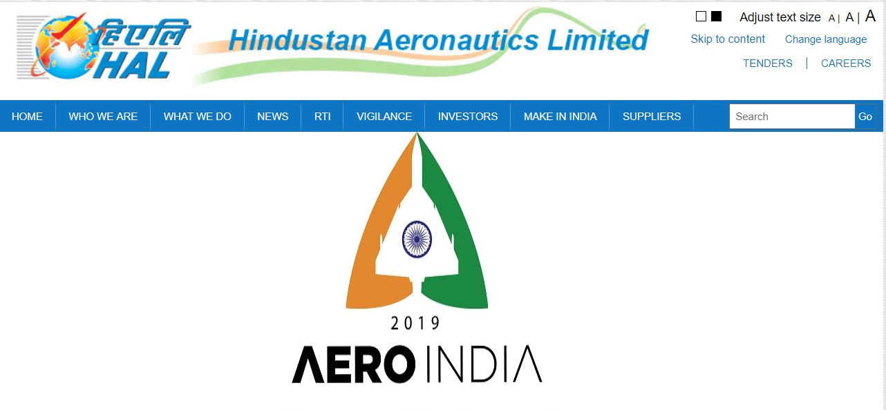 HAL recruitment 2018, Hindustan Aeronautics Limited