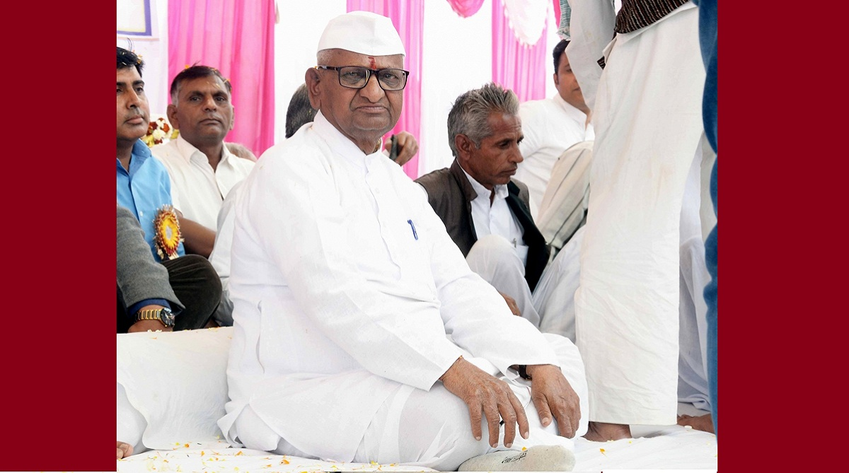 Hunger strike from January 30 if Lokpal not appointed, warns Anna Hazare