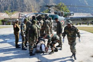 IAF Casevac at Chanderkot: Critically injured ITBP jawans, civilians rescued