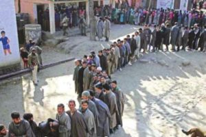 Voting underway for 8th phase of J-K panchayat polls